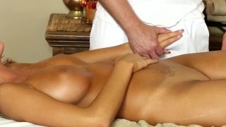 TrickySpa August Ames Cheats with Masseur: MEMBER FANTASY